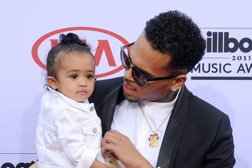 "Chris Brown's Daughter Royalty Hits ""Shoot"" Dance In Her Gucci Sweatsuit"