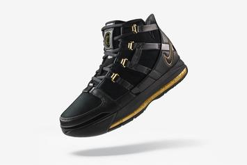 """Nike LeBron 3 """"Black/Gold"""" Releasing Today: Purchase Links"""