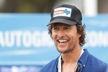 """Matthew McConaughey Named """"Minister Of Culture"""" For Texas' Basketball Arena"""