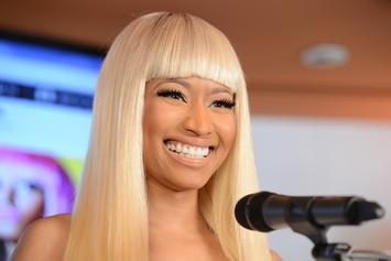 Nicki Minaj Writes Her Love With Kenneth Petty In The Sand
