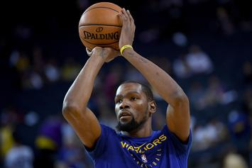 """Kevin Durant Talks Free Agency Plans, Says He Wants To """"Stack Money"""""""
