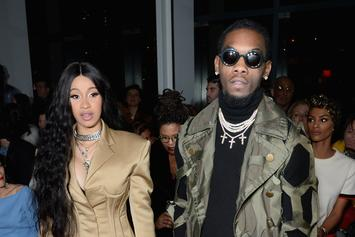 Cardi B & Offset's Baby Kulture Drools All Over New Christmas Chain