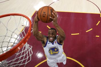 Andre Iguodala Fined $25K After Throwing Ball Into Stands