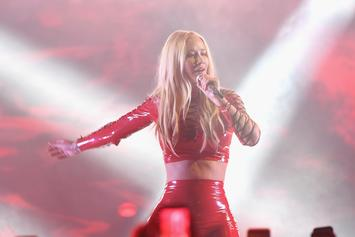 "Iggy Azalea Wore A Metal Shirt That Says ""Jesus Is A C**t"""