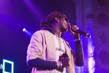 "Young Thug Posts Up With His Latest ""Luv,"" Juice WRLD"