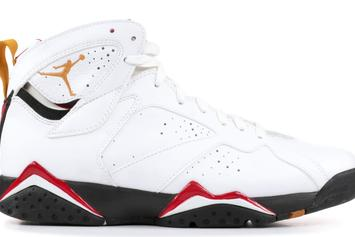 "Air Jordan 7 ""Cardinal"" Returning With New Reflective Detailing"