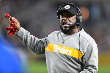 Mike Tomlin Says Antonio Brown Never Asked For A Trade From The Steelers