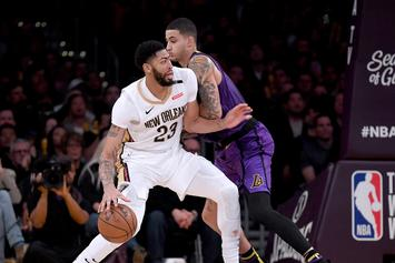 "Anthony Davis Speaks On Pelicans Struggles, Says ""Everyone Is Frustrated"""