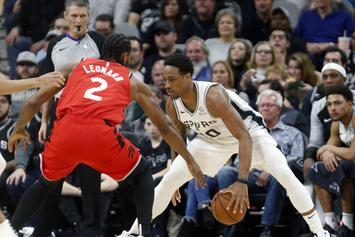 DeMar DeRozan Scored His First Career Triple-Double Against The Raptors