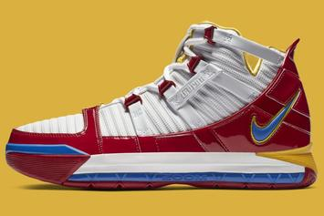 "Nike LeBron 3 ""Superman"" Release Date Changed: Details"