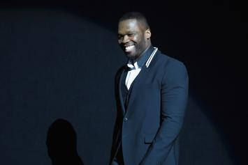 50 Cent Strays Away From Face Tattoos After Trying On Mike Tyson's Ink