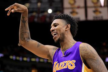 Nick Young Accused Of Striking Man In Genitals After Unwanted Photo Op