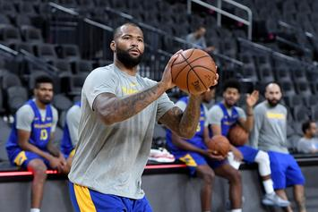 DeMarcus Cousins Will Start For Golden State When He Returns