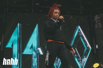 "Trippie Redd Shows Off New ""666"" Eyelid Tattoos"