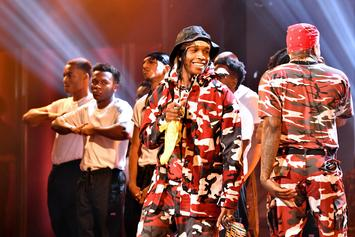 """A$AP Rocky Refuses To Kiss 2 Female Fans: """"Too Much R. Kelly Stuff Goin' On"""""""