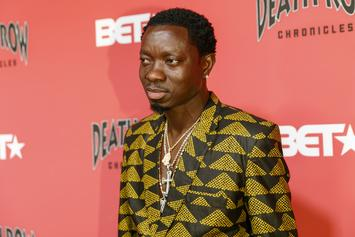 Michael Blackson's Car Smashed By Drunk Driver In Three Car Wreck