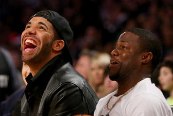 """Drake Trolls Kevin Hart On His """"Terrible"""" Beard: """"What About Your Barber"""""""