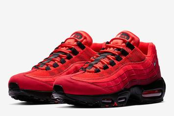 "Nike Air Max 95 OG Gets Dressed In ""Habanero Red"""