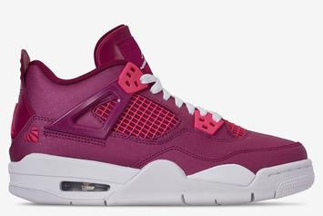 "Air Jordan 4 ""Valentine's Day"" Surfaces: First Look"