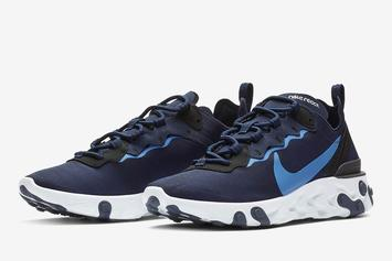 Nike React Element 55 Gets UNC-Inspired Colorway