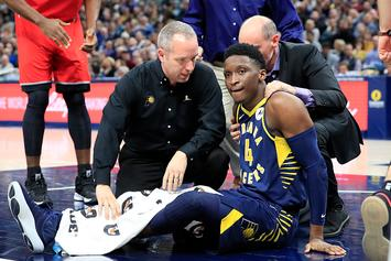 Pacers' Victor Oladipo Suffered Ruptured Quad Tendon, Out For Season