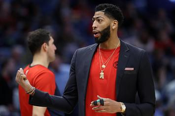 Anthony Davis Fined By NBA Because Trade Demands Went Public