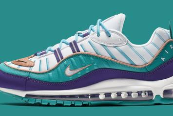 Nike Air Max 98 Gets Charlotte Hornets-Inspired Colorway