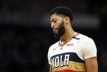 Anthony Davis Speaks To Media For First Time Since Trade Request
