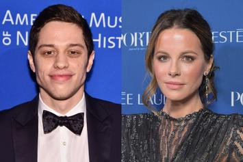 Pete Davidson & Kate Beckinsale Spotted Holding Hands Fuelling Dating Rumors