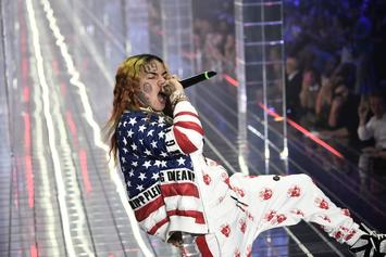 Tekashi 6ix9ine 's Girlfriend Demonstrates Her Loyalty In Expletive Rant