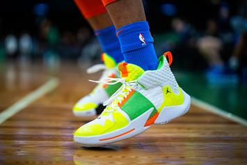 "Russell Westbrook Debuts ""Super Soaker"" Jordan Why Not Zer0.2"