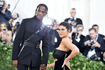 Kylie Jenner Posts Cute Clip Of Stormi Watching Travis Scott's Super Bowl Performance