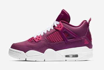 "Air Jordan 4 ""Valentine's Day"" On Tap For Weekend Release"