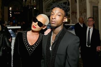 Amber Rose Dragged Into 21 Savage Immigration Trouble By Fans