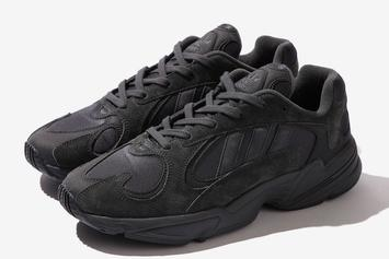 "BEAMS x Adidas Yung-1 ""Triple Black"" Details"
