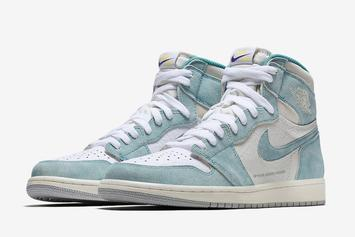 """Air Jordan 1 """"Turbo Green"""" Official Images Revealed"""