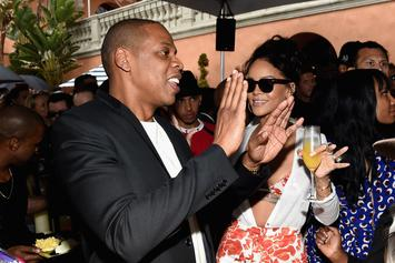 Jay Z & Rihanna Meet Up In LA; Rumors Spread Of A Collab OTW