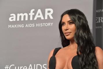Kim Kardashian Explains How That Kid Cudi Birthday Photo Came To be