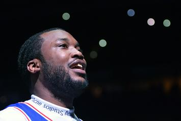 """Meek Mill Disfigures His Rolls Royce """"Ghosty"""" In Collision With Uber Driver"""