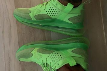 Odell Beckham Jr. Shows Off Potential New Nike Air Max 720