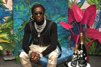 "Young Thug Sends Harrowing Message To Followers: ""Drugs Help Depression"""