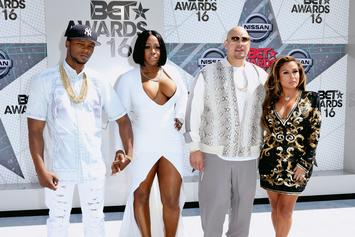 Uncle Fat Joe Is In Awe Of Remy Ma & Papoose's Golden Child