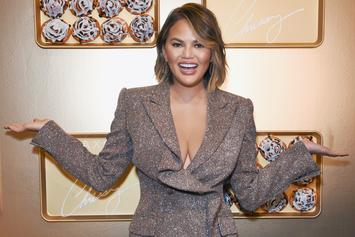 "Chrissy Teigen Says She Chipped Her Tooth Filming ""Family Feud"" Episode"