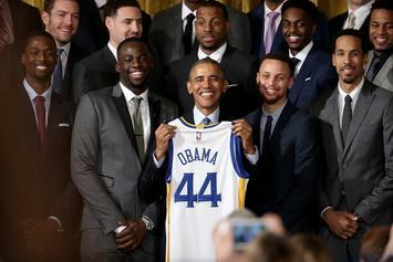 Barack Obama Jokes That He Taught Steph Curry His Jumper