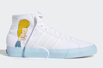 Beavis And Butt-Head Do The Adidas Matchcourt Hi: First Look