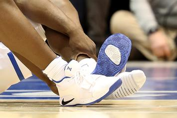 Nike Issues Statement On Zion Williamson's Ripped Sneaker