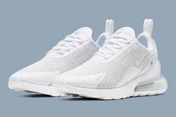 "Nike Air Max 270 ""Pure Platinum"" Details"