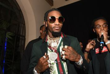 "Offset Drops Off Official ""Father Of 4"" Merchandise"