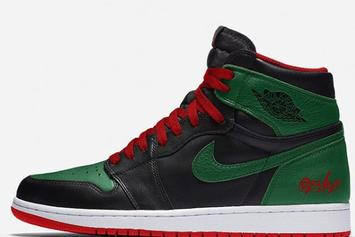Air Jordan 1 Rumored To Release In Gucci Colorway