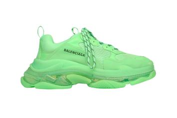 "Balenciaga Triple S Gets An All-Over ""Neon Green"" Makeover"